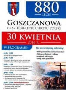 Sobotni wyjazd 30.04.2016 do Goszczanowa
